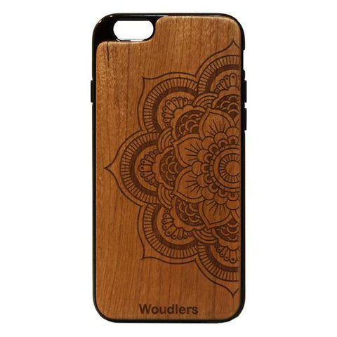 Mandala Wooden iPhone 6/6s Case - iPhone 6/6s