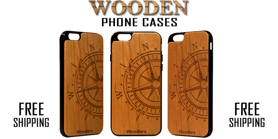 Wooden phone cases