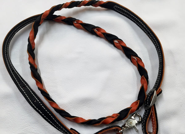 Super soft leather reins