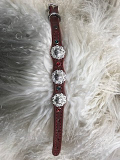 X-Small Christmas Dog Collar