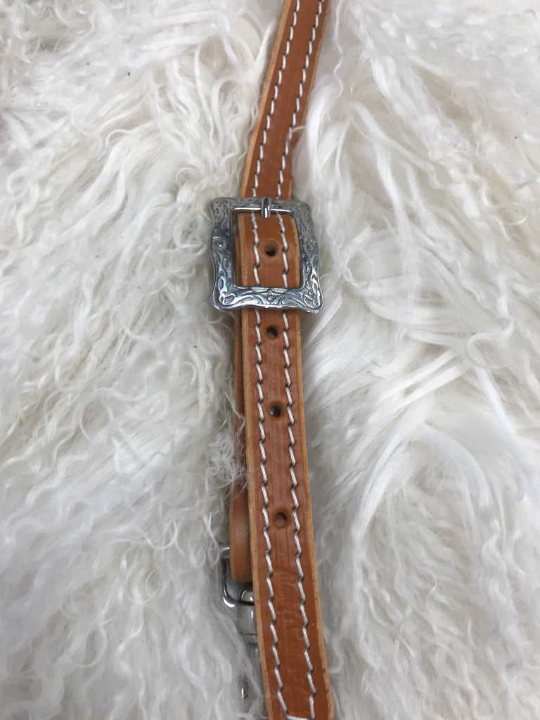 Wither strap tan with stainless buckle