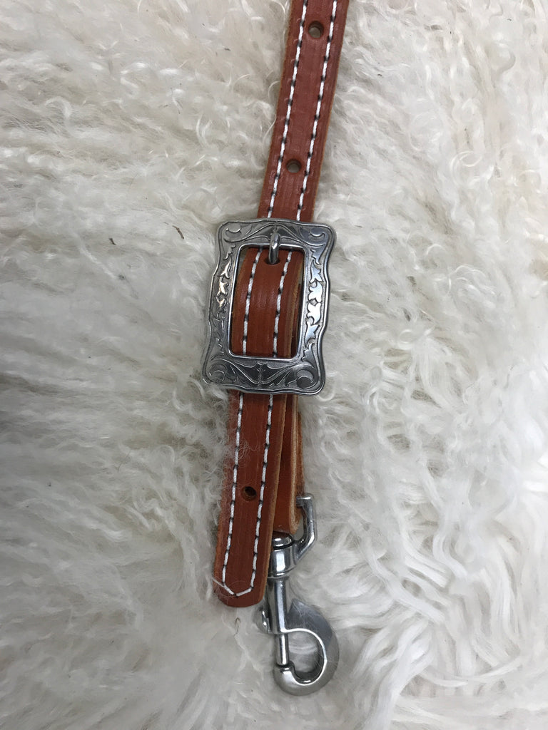 Wither strap chestnut with stainless buckle