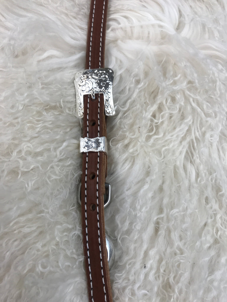 Wither strap medium with 2pc shiny buckle