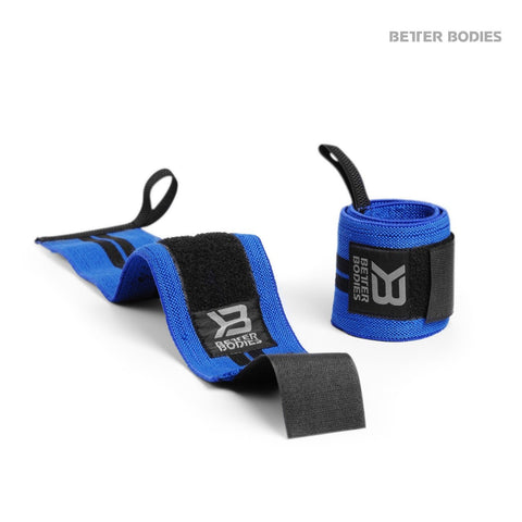 "Better Bodies Wrist Wrap 18"", Strong Blue"
