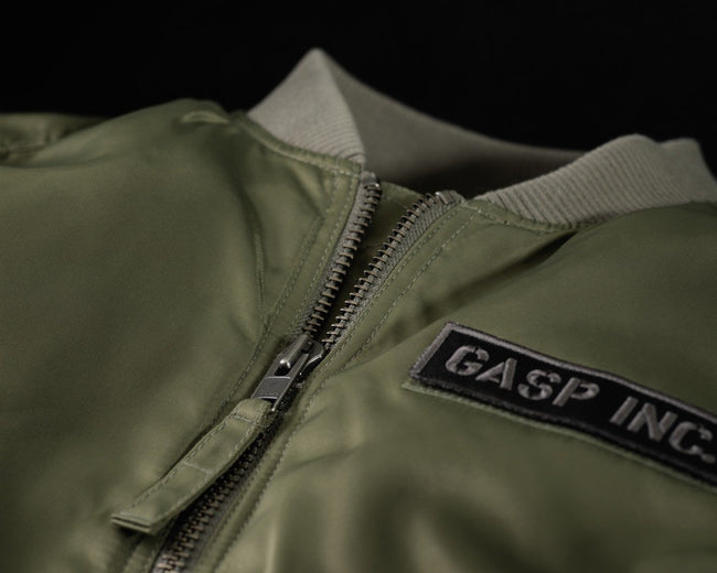 GASP Utility Jacket, Wash Green Front