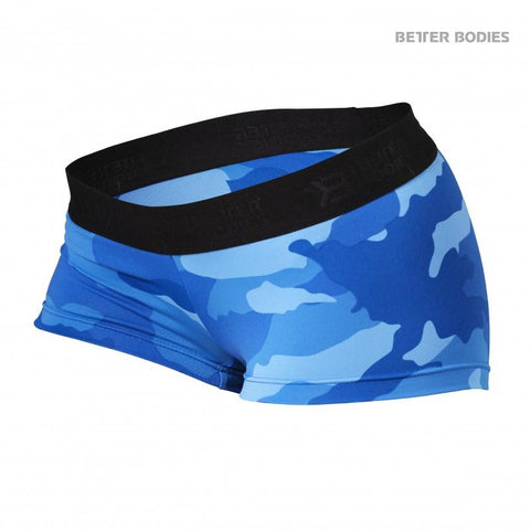 Better Bodies Fitness Hotpants Blue Camo