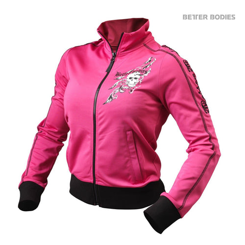 Better Bodies Women's Flex Jacket Hot Pink