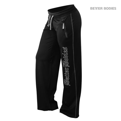 Better Bodies Women's Flex Pants Black/Grey