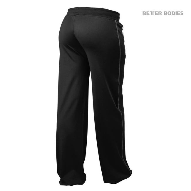 Better Bodies Women's Flex Pants Black/Grey Back