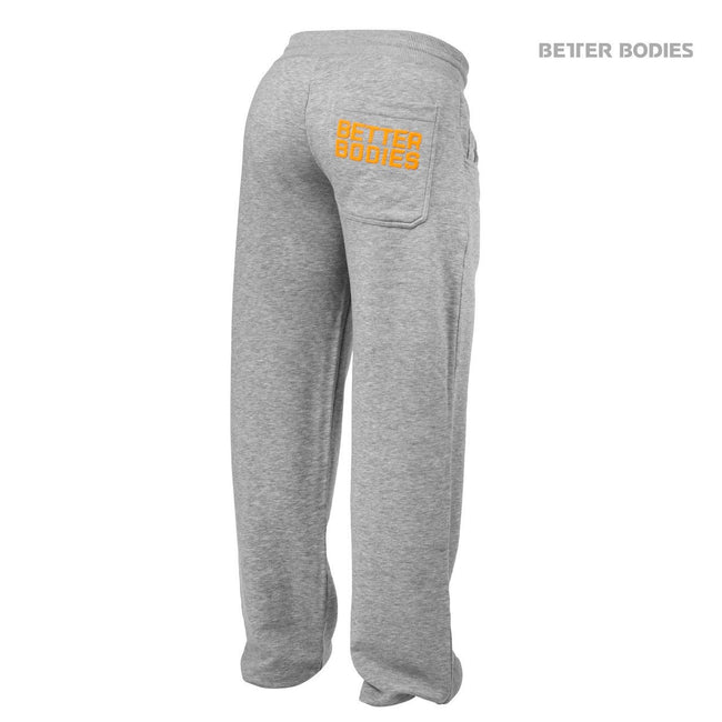 Better Bodies Shaped Sweat Pants Grey Back