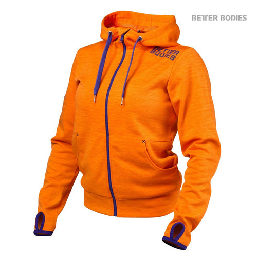 Better Bodies Women's Athletic Hood Orange