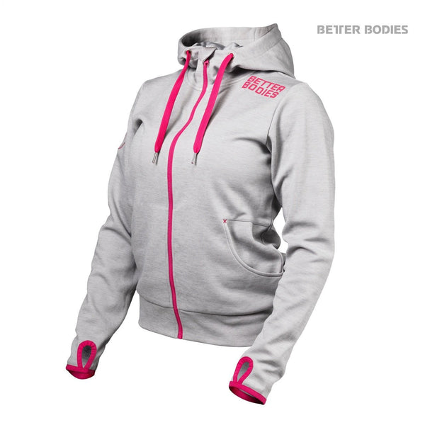 Better Bodies Women's Athletic Hood Grey