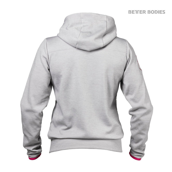Better Bodies Women's Athletic Hood Grey Back