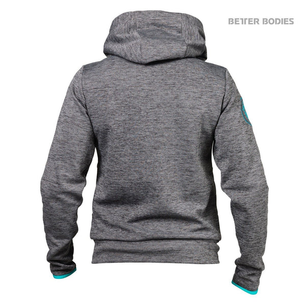 Better Bodies Women's Athletic Hood Anthracite Back