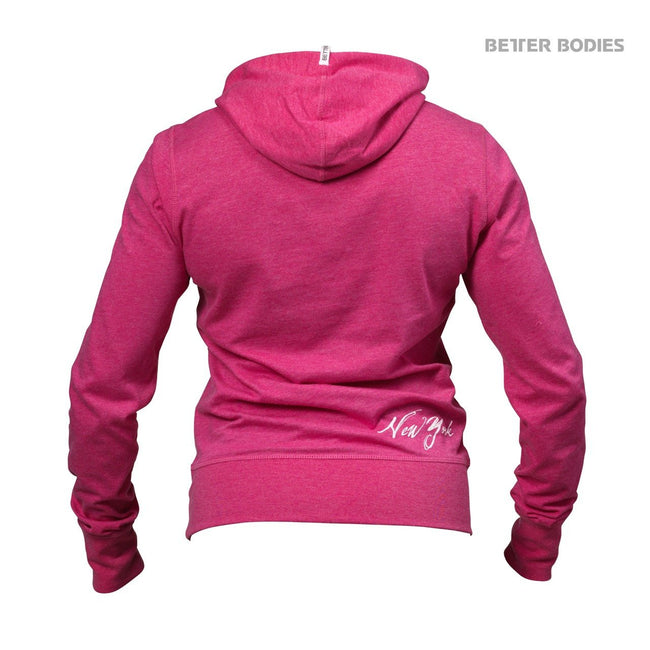 Better Bodies Women's N.Y Hood Sweater Pink Back