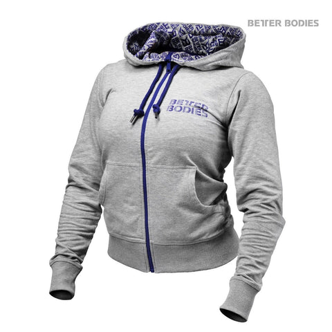 Better Bodies Women's Soft Logo Hoodie Grey