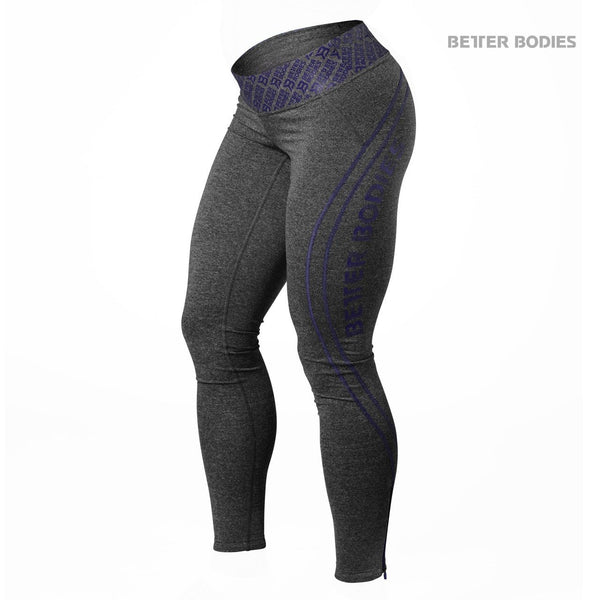 Better Bodies Shaped Logo Tights Purple