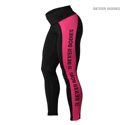 Better Bodies Side Panel Tights Pink