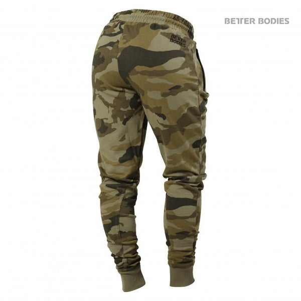 Better Bodies Womens Jogger Sweat Pants Green Camo back