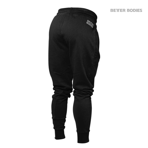 Better Bodies Womens Jogger Sweat Pants Black Back