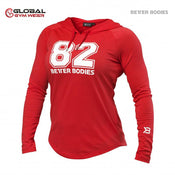 Better Bodies Varsity Hoodie Tomato Red
