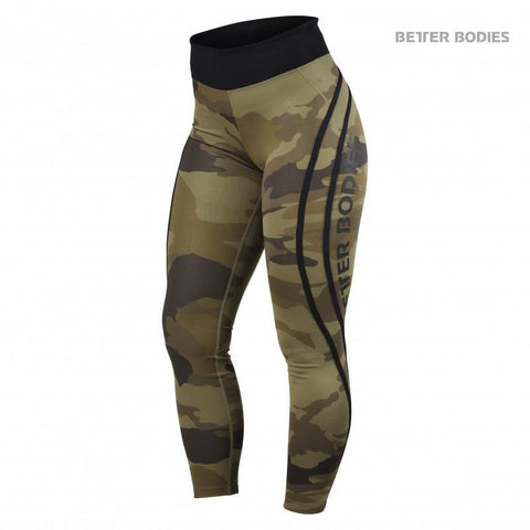 Better Bodies Camo High Tights for £0.89 at Global Gym Wear