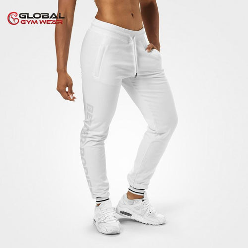 Better Bodies Madison Sweat Pants White