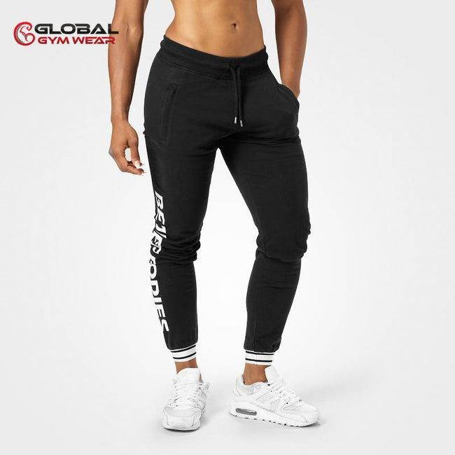 Better Bodies Madison Sweat Pants Black