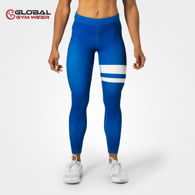 Better Bodies Varsity Stripe Tights front