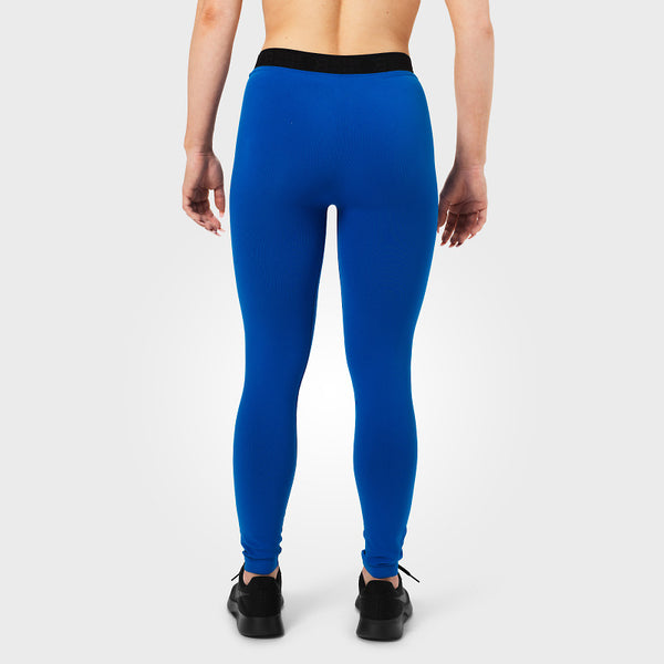 Better Bodies Astoria Curve Tights Strong Blue back