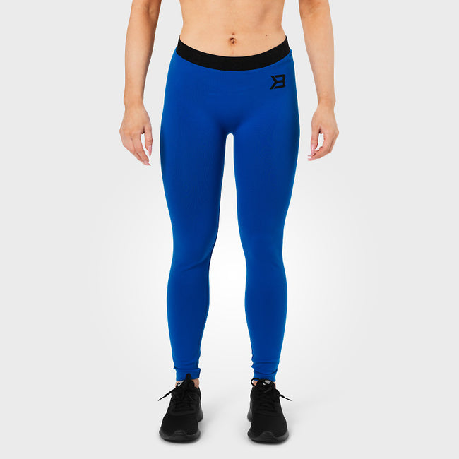 Better Bodies Astoria Curve Tights Strong Blue front