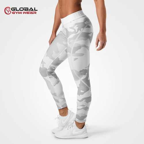 Better Bodies Chelsea Tights White Camo