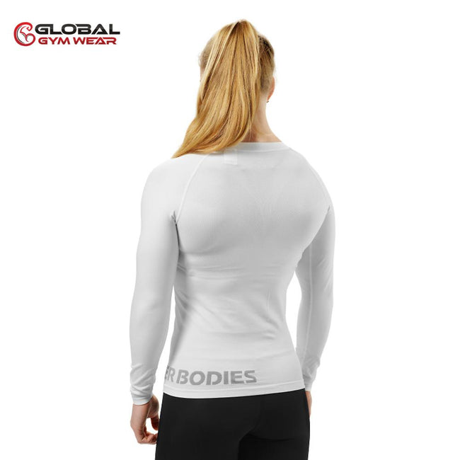 Better Bodies Women's Nolita Seamless Longsleeve White back