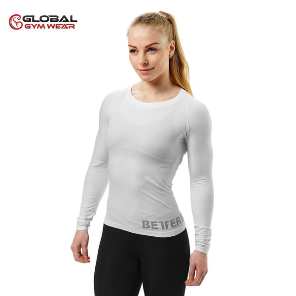 Better Bodies Women's Nolita Seamless Longsleeve White