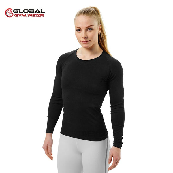 Better Bodies Women's Nolita Seamless Longsleeve Black