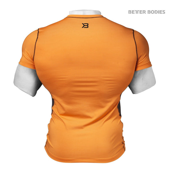 Better Bodies Tight Function Tee, Orange Back