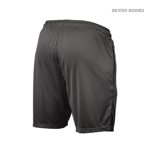 Better Bodies Loose Function Shorts, Dark Grey Back