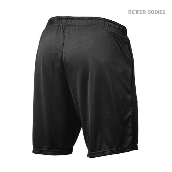 Better Bodies Loose Function Shorts, Black Back