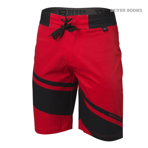 Better Bodies Pro Boardshorts, Bright Red