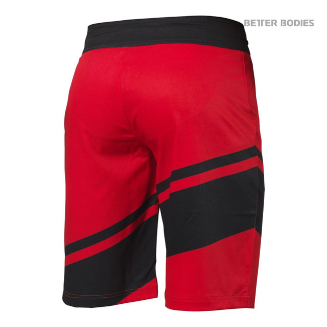 Better Bodies Pro Boardshorts, Bright Red Back