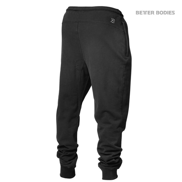 Better Bodies Tapered Sweatpants, Black Back