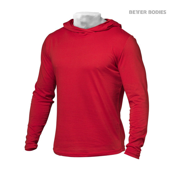 Better Bodies Soft Hoodie, Bright Red