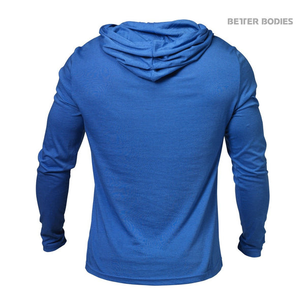 Better Bodies Soft Hoodie, Bright Blue Back