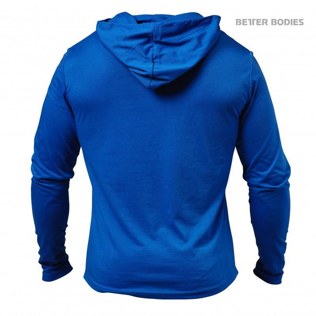 Better Bodies Soft Hoodie Strong Blue back