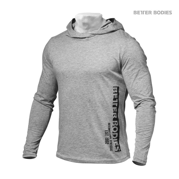 Better Bodies Soft Hoodie, Grey