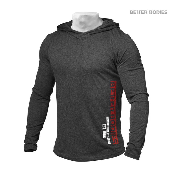 Better Bodies Soft Hoodie, Antracite
