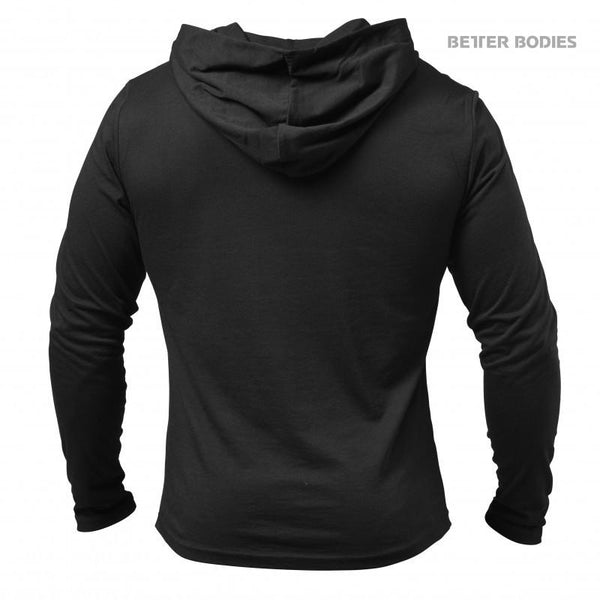 Better Bodies Soft Hoodie Black back