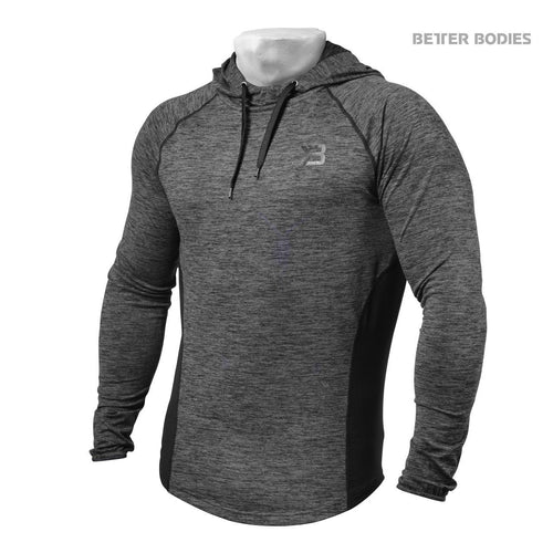 Better Bodies Performance Mid Hood Graphite