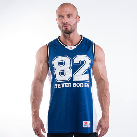 Better Bodies Tip Off Tank Navy
