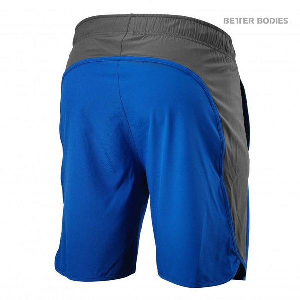 Better Bodies Brooklyn Shorts Strong Blue back